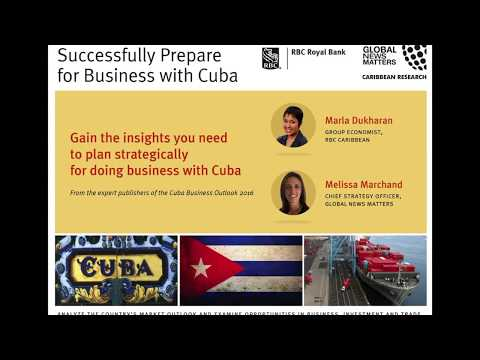 Strategic Investment  Successfully Prepare for Business with Cuba
