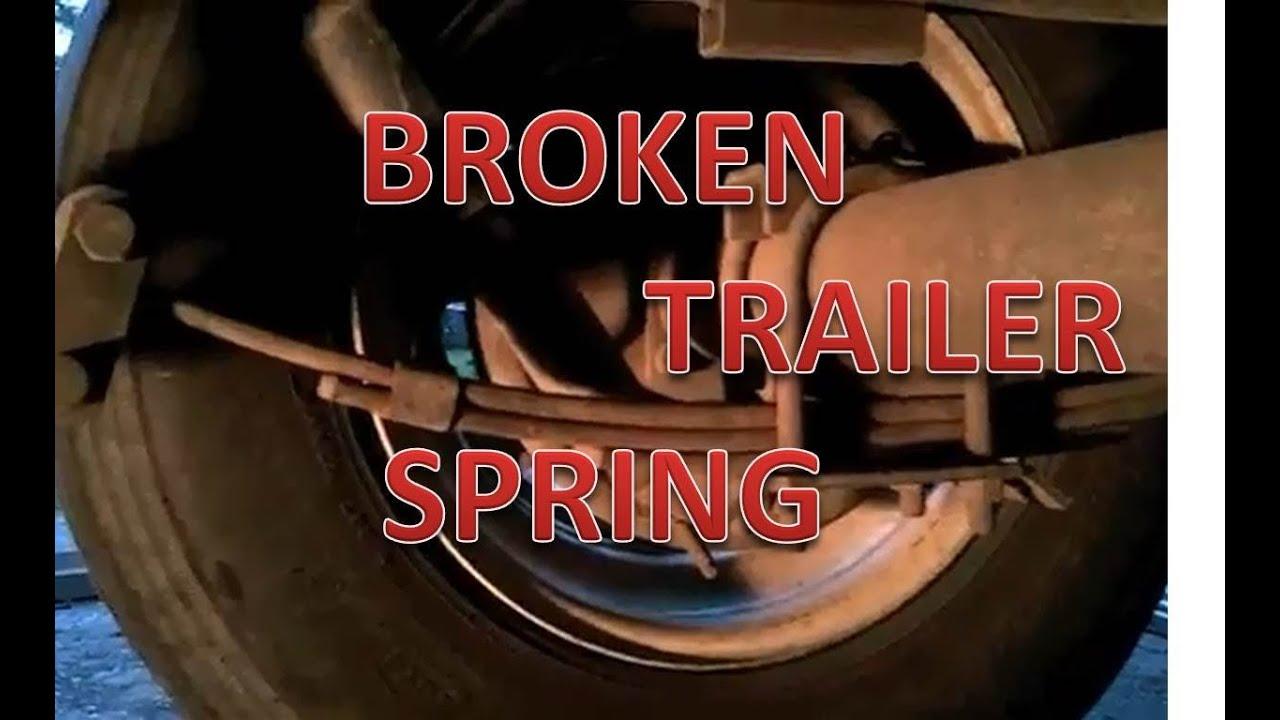 Broken Camper Spring Repair
