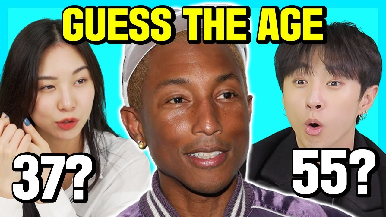 Koreans Try to Guess The age of the African American Hollywood celebrities!