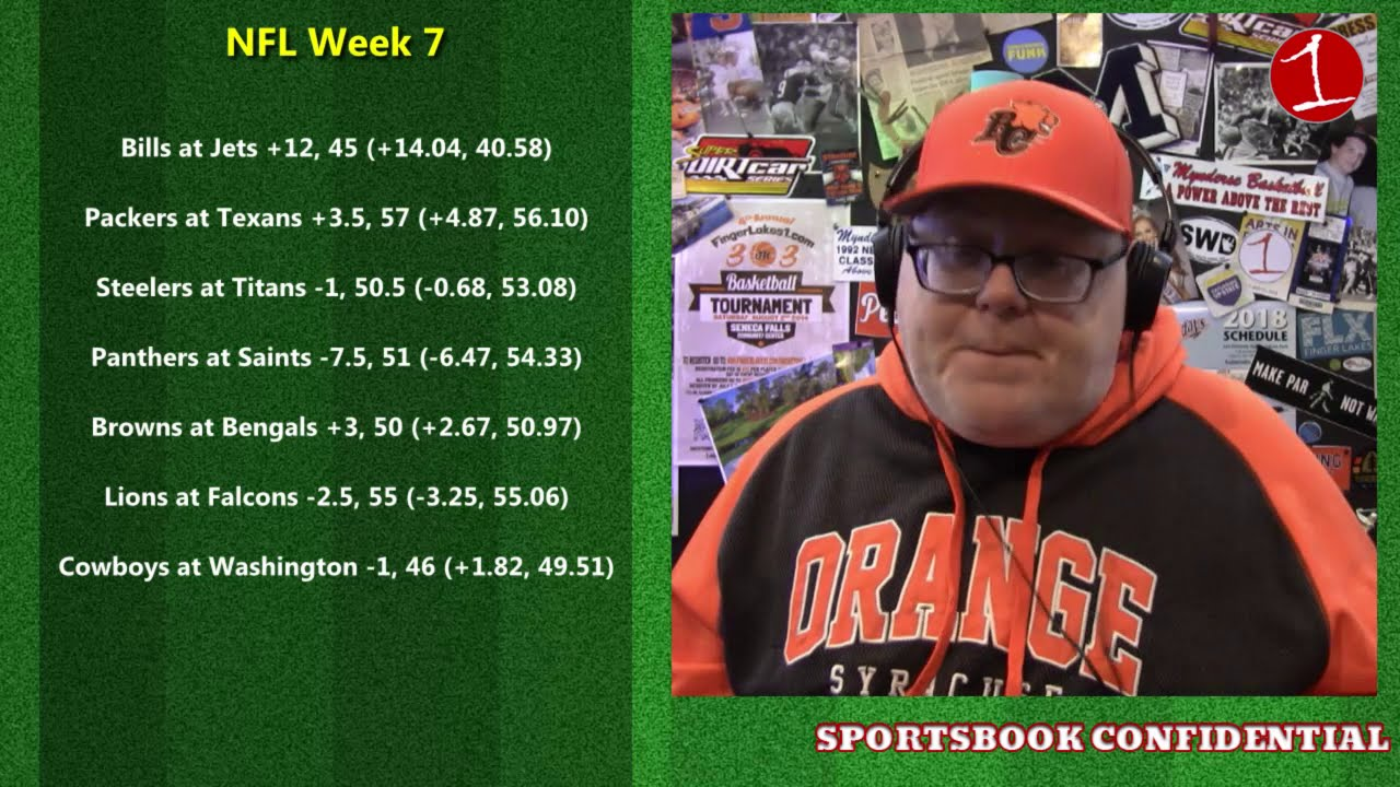 SPORTSBOOK CONFIDENTIAL: What Is Bet Sizing? & NFL Week 7 (podcast)