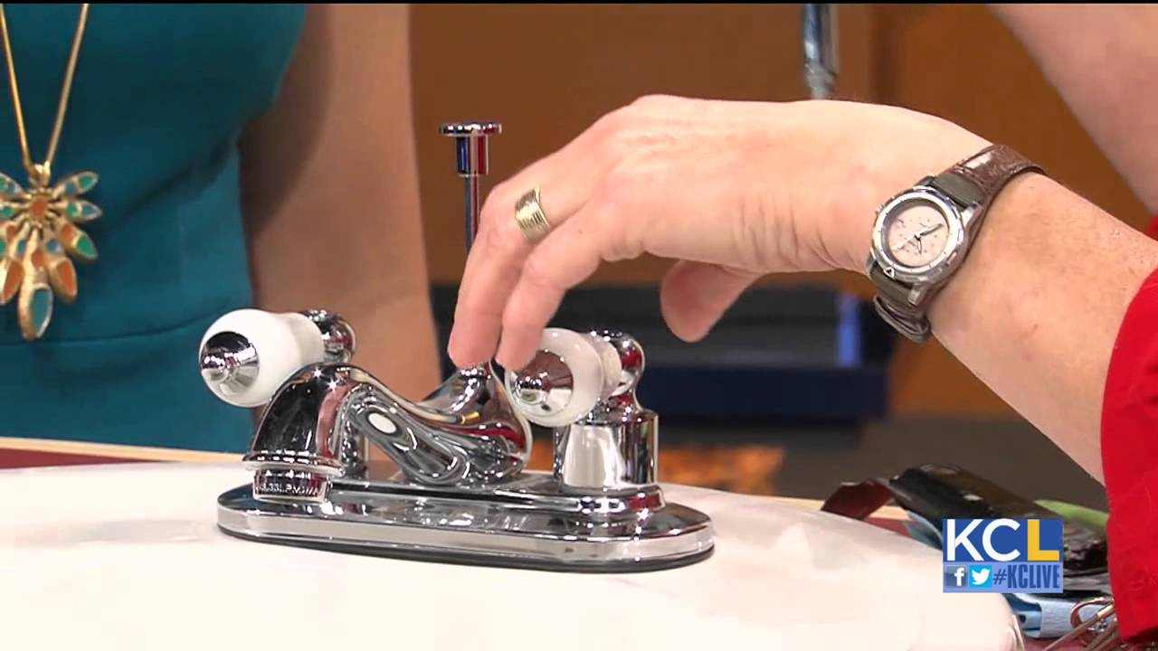 How to fix a leaking faucet yourself - YouTube