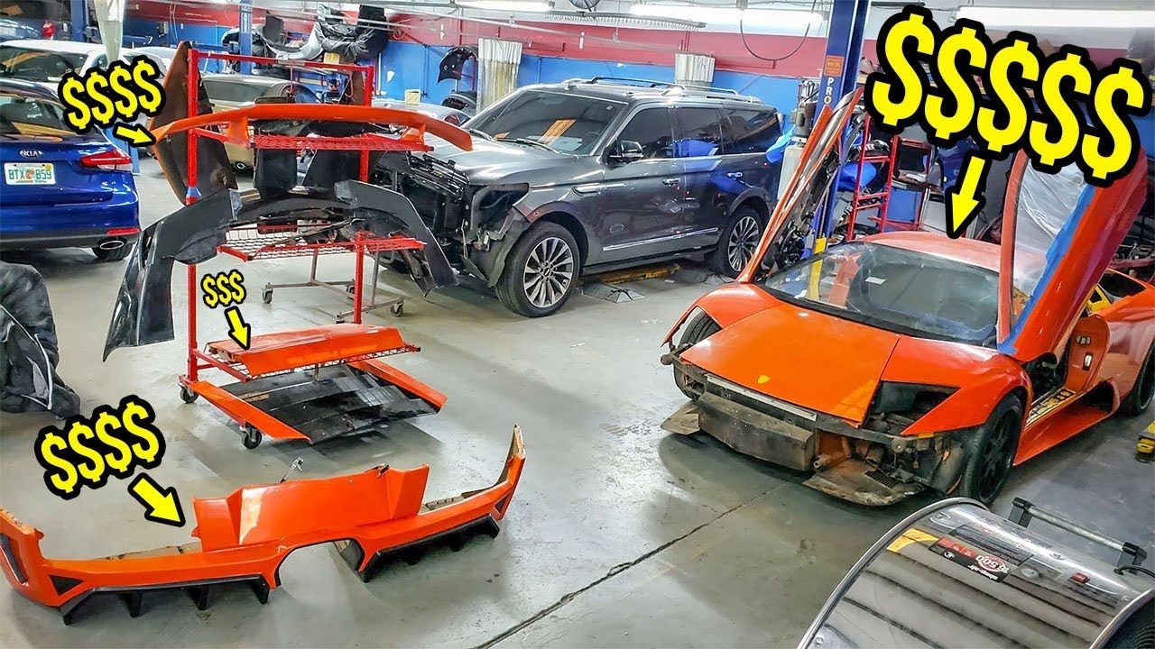 Here's How Much It Costs To Fix My Fast & Furious Lambo's HORRIBLE Movie Paint Job (WO