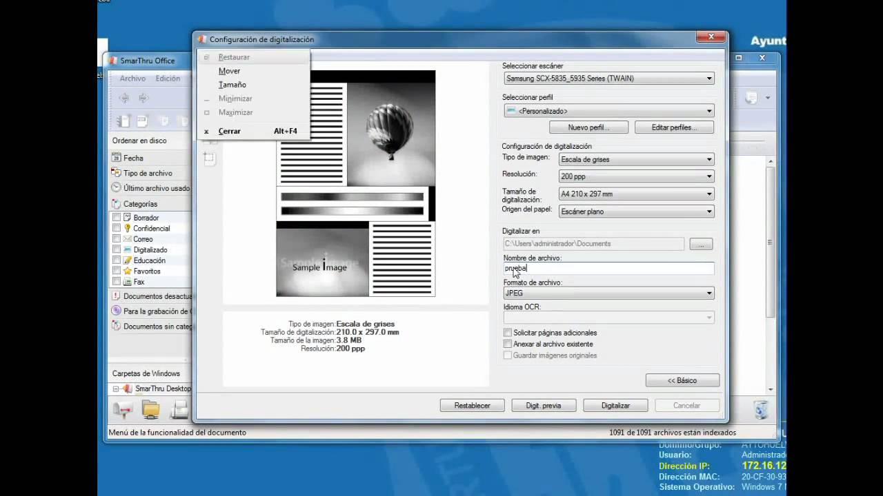 Samsung SCX-5635FN Scanner Driver for Windows