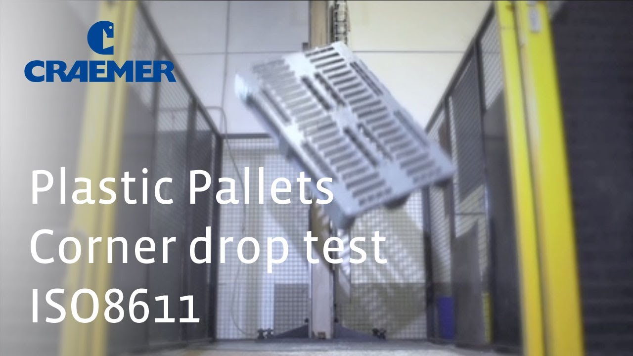 Plastic Pallets Drop Test
