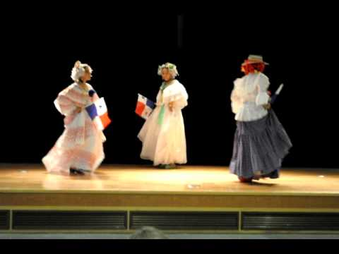 Cumbia chorrerana conjunto tipico danza panama en okinawa Japan