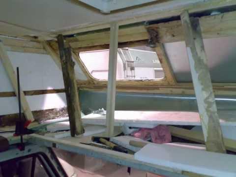 Tecnocamper trieste camper riparazione infiltrazione youtube - Rivestimento pareti bagno camper ...