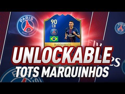 90 RATED TOTS MARQUINHOS UNLOCKED! - FIFA 17 Ultimate Team
