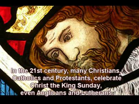 The Solemnity of Christ the King: an AFCC Audio-Video presentation