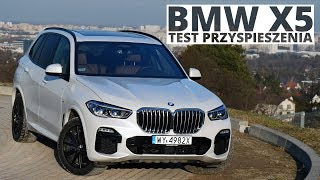 BMW X5 30d 3.0 Diesel 265 KM (AT) - acceleration 0-100 km/h