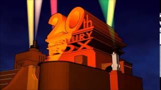 20th Century Fox Logo (1953, Colour) (Remade)