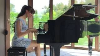 "Piano Version - ""A Bird Came Flying"" (original composition for harp by Anne Van Schothorst)"