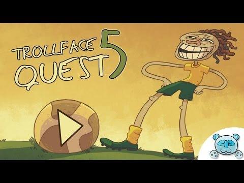 Trollface Quest # 5 : เกรียนบอลโลก World Cup 2014 (Walkthough)