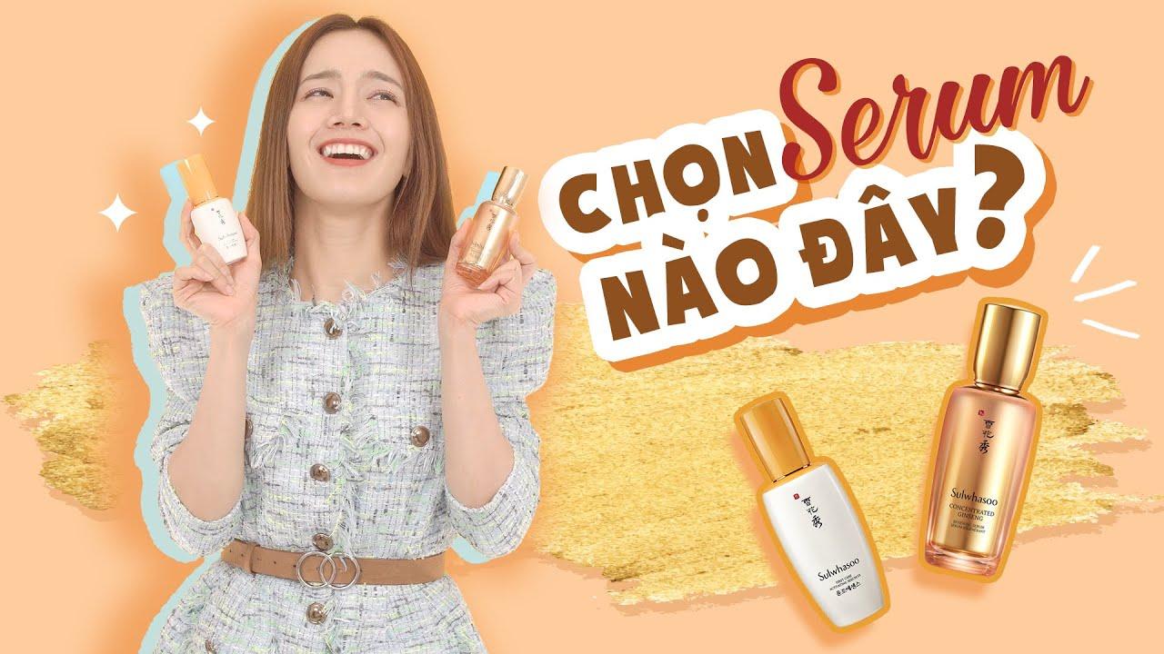 Lần đầu dùng mỹ phẩm Sulwhasoo của Emmi - Tốt đến đâu? Tips dùng cho DA DẦU MỤN | HAPPY SKIN