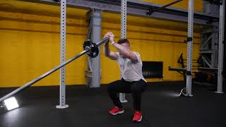 Fixed Barbell Overhead Squat