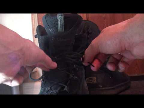 Как быстро завязать шнурки.