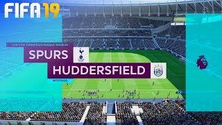 FIFA 19 - Tottenham Hotspur vs. Huddersfield Town @ Tottenham Hotspur Stadium