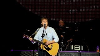 SOUNDCHECK - Paul McCartney in Birmingham - Out There Tour 2015