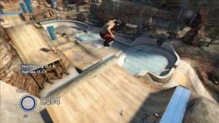 how  to do a superdude/merical whip on skate 3