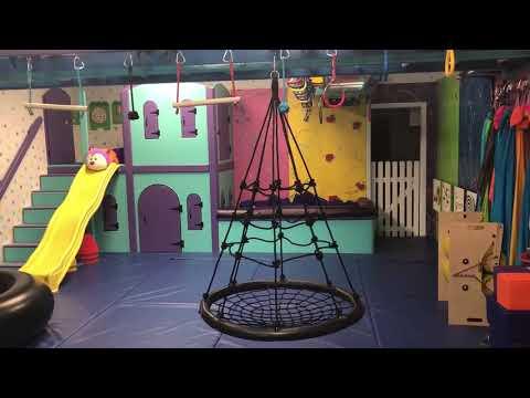 Totville, Sensory Gym, Web Swing, Therapy Equipment, Pediatric Gym