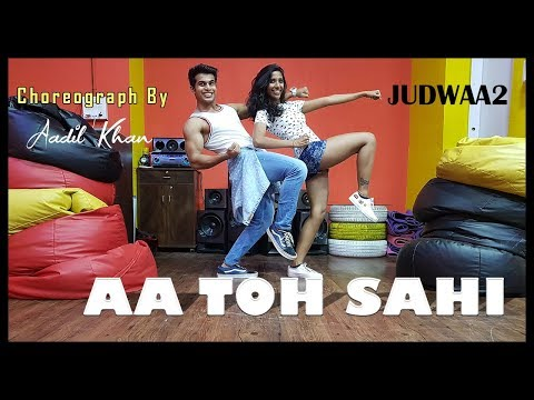 Aa To Sahi | Easy beginner level | Judwaa 2 | Aadil Khan Choreography |
