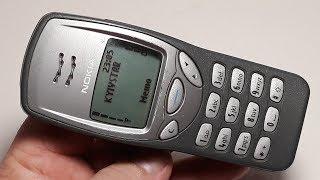 Nokia 3210 Ретро телефон 2001 года в хорошем состоянии 68 часов наговорено