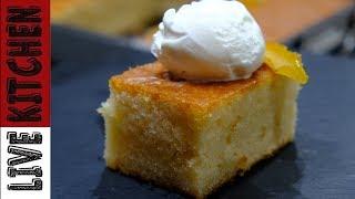Το πιο αφράτο Κεικ Λεμονιού -Τύφλα να έχει η Λεμονόπιτα - Βest Lemon cake - Live Kitchen