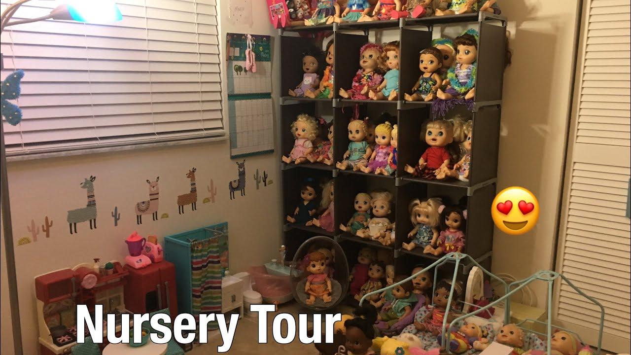 Baby Alive Nursery Tour 2019 Youtube