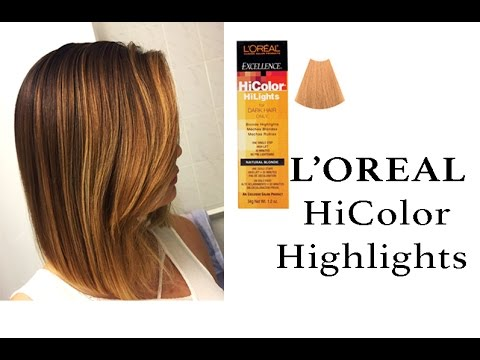 Loreal hicolor highlights natural blonde youtube loreal hicolor highlights natural blonde pmusecretfo Choice Image