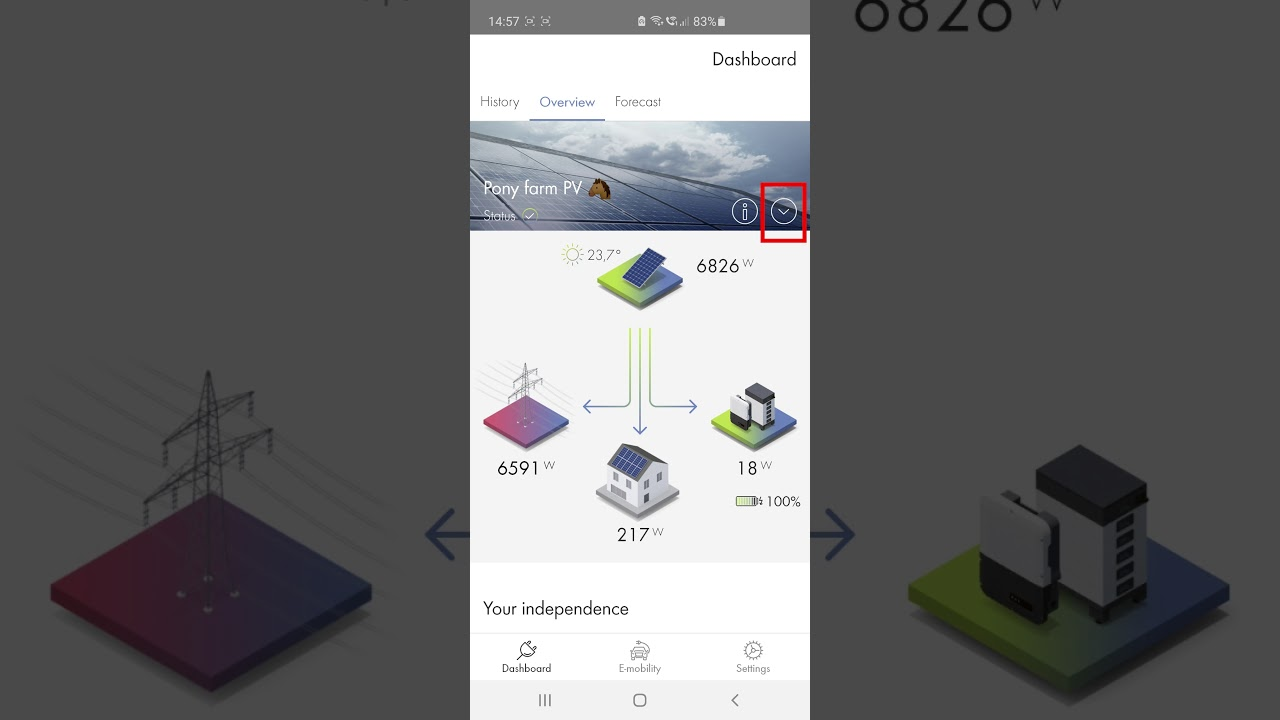 Download Keep an eye on your PV system at all times with the SMA Energy app!