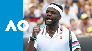 Tiafoe takes fourth set against Seppi | Australian Open 2019