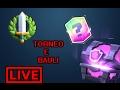 Shoppo Bauli Magici E Creo Un Torneo Per Voi!!! LIVE Clash Royale