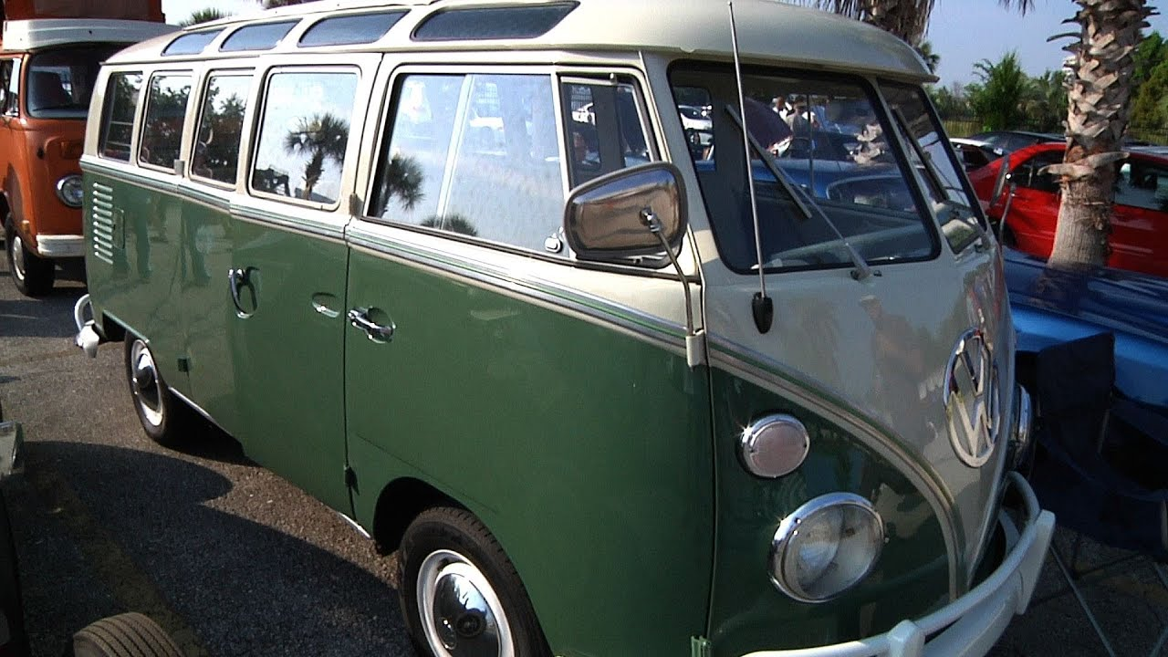 vw samba bus one sweet ride restored youtube. Black Bedroom Furniture Sets. Home Design Ideas