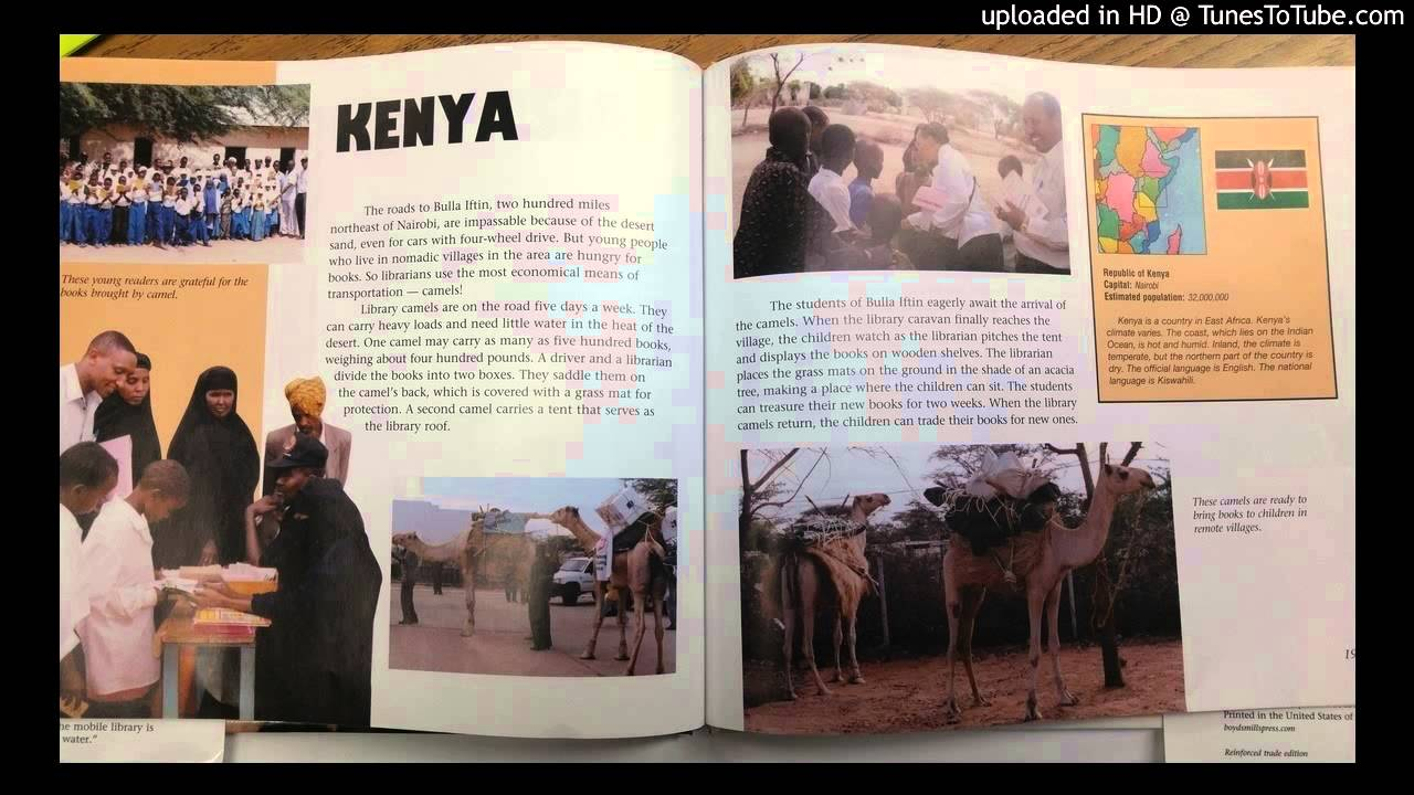 my librarian is a camel kenya youtube