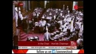 Ruckus in Rajya Sabha & Lok Sabha