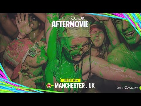 Life In Color - BIG BANG - Manchester, UK - 01.30.2016 - Official Aftermovie
