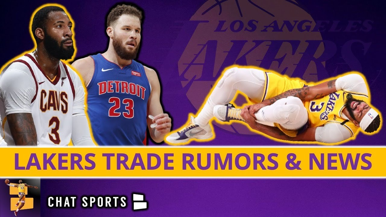 Download Lakers Trade Rumors On Andre Drummond & Blake Griffin + Anthony Davis Injury News