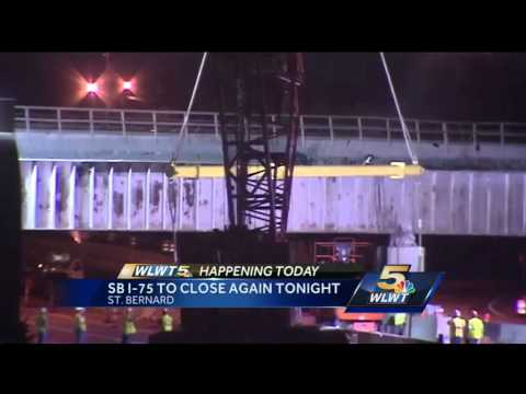 1 down, 1 to go: I-75 SB closes at Norwood Lateral for bridge replacement