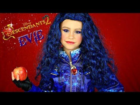 Descendants 2 Evie Makeup and Costume! Featuring Jaclynn Hill Morphe Palette