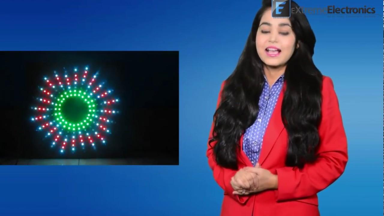 Rgb Pixel Led Design Software Ws2812 Hindi Youtube