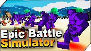 Epic Battle Simulator ➤ СИМУЛЯТОР ЭПИЧНОЙ БИТВЫ НА АНДРОИД