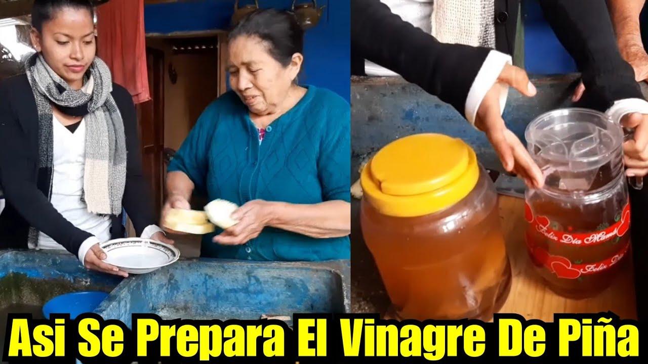 Mi Abuelita Nos Enseña a Preparar El Vinagre Hecho en Casa 🙂