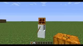 شروحات ماين كرافت 2 كيف تصنع رجل الثلج ؟