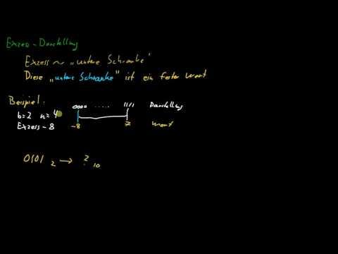 Grundlagen Informatik - 03: Exzess Darstellung