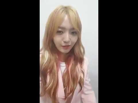 170327 K-Star Facebook Live (Chanmi)