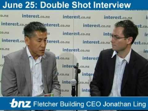 Double Shot Interview: Fletcher Building CEO Jonathan Ling part 2