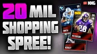HUGE 20 Million Coin Shopping Spree! Madden Mobile