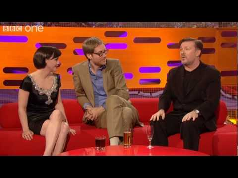 Christina Ricci's Armpit Hair  The Graham Norton   BBC One