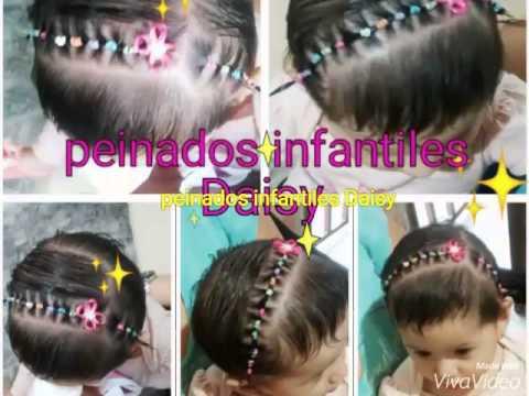 Peinados infantiles Daisy