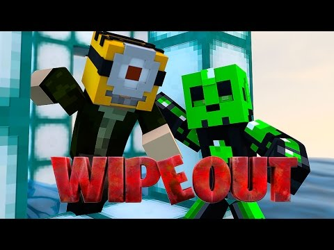 BUSCA LA LLAVE!! WIPEOUT | Minecraft Race Map