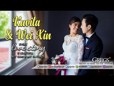 Chinese Groom Marries his dream Punjabi Girl // Wei Xin + Kavita